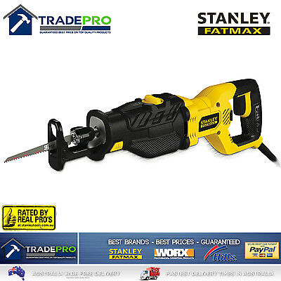 Stanley® Fatmax Reciprocating Saw 1050W Kit with Blade PRO Recipro SabreSaw 240V