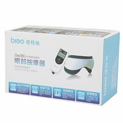 Breo iSEE 360 Digital Air Pressure Head Eye Massager with Music function
