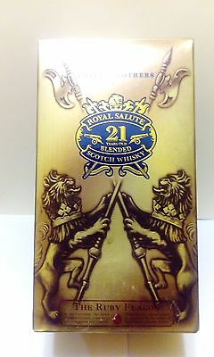 EMPTY BOX CHIVAS BROTHERS 21Y Royal Salute Scotch whisky  FOR COLLECTORS