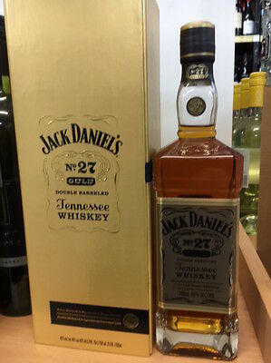 Jack Daniels Gold No.27 Double Barrelled Tennessee Whiskey 700Ml