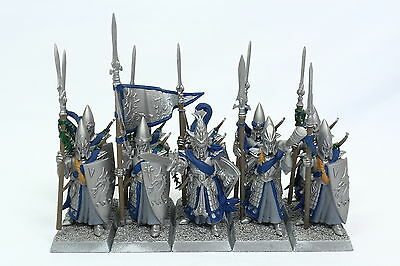 WFB Aelf High Elf Lothern Sea Guard Spearmen IoB OOP (Plastic x10)