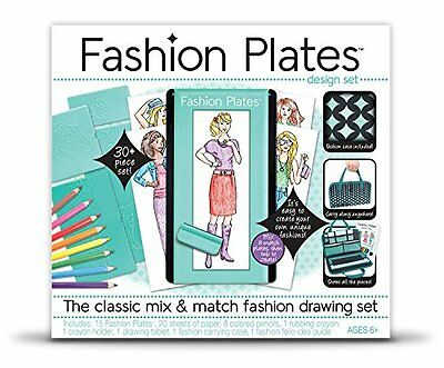 Fashion Design Plates Deluxe Kit Classic Set Updated Endless Combinations, NEW