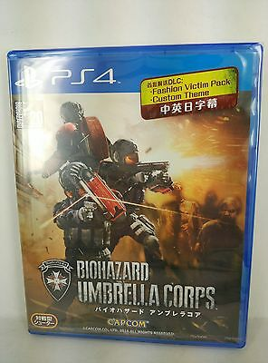 PS4 Resident Evil Biohazard Umbrella Corps (BLU-RAY Disc, ENGLISH/ CHINESE)
