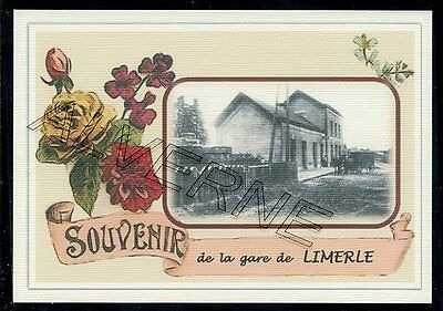 LIMERLE  ..... GARE...   souvenir creation moderne serie numerotee
