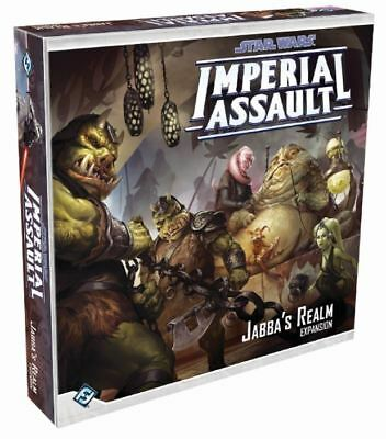 Star Wars Imperial Assault Jabba's Realm Expansion Board Game New!!!