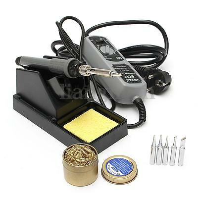 220V 60W Electric Soldering Iron Welding Kit Lead Free Safe Station YIHUA 908+
