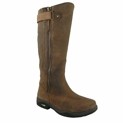 Kanyon Gorse X Rider Leather Riding Walking Leisure Boots, Brown