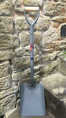 Spear & Jackson All Steel MYD Square Mouth Shovel - Digging Contractors Builders