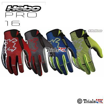 Hebo PRO16 Lightweight Riding Gloves Trials-Enduro-Cycling-MX-Offroad