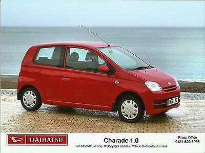 DAIHATSU CHARADE 1.0 Press / Publicity Photo 2006 UK market