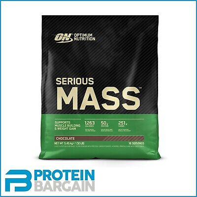 Optimum Nutrition Serious Mass 5.4kg Weight Gainer + ON MICRONISED CREATINE 144G