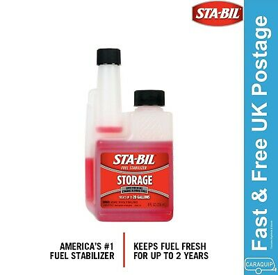 STA-BIL Fuel Stabilizer Storage Petrol Treatment Additive 236ml