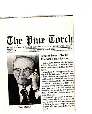 The Pine Torch Piney Woods School Newsletter January-March 1982 Vol XLV #1