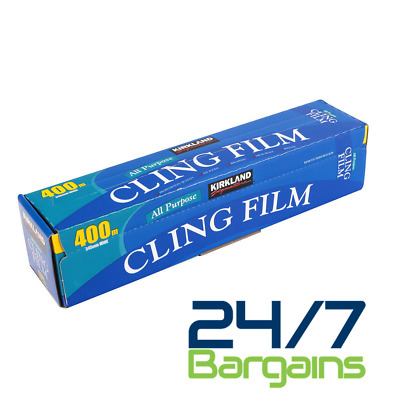 High Quality strong All Purpose Kitchen Cling Film 345mm Wide x 400m Length