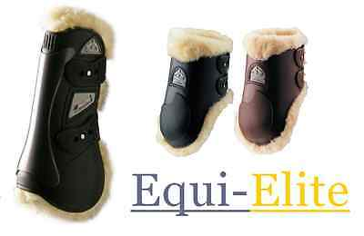 Veredus Grand Prix Sheepskin Lined Baloubet Tendon & Fetlock Boots
