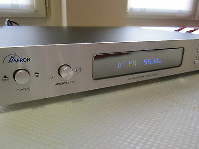 Aeron Rd-04 Fm Rds Stereo Tuner Radio Sintonizzatore Xlr Out