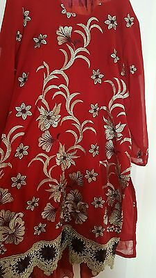 Indian Pakistani salwar kameez plus size xl xxl xxxl 18 20 22
