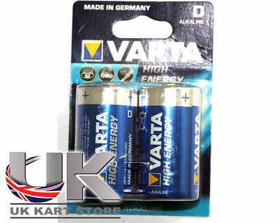 D Cel Batterie x 2 UK KART STORE