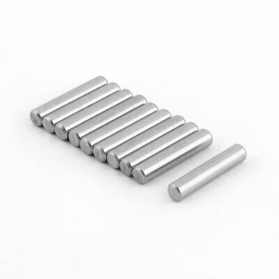 Stainless Steel Round Solid Dowel Pins Fastener Elements 5mm Dia 25mm Length