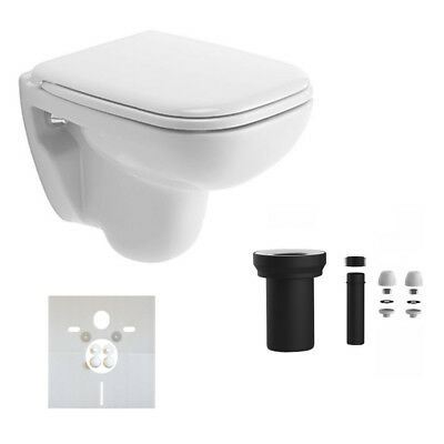 duravit d code wand wc compact ausladung 48cm wc sitz mit. Black Bedroom Furniture Sets. Home Design Ideas