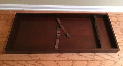 """Pottery Barn Kids """"Filmore"""" Changing Table Topper Sun Valley Espresso NEW SALE"""