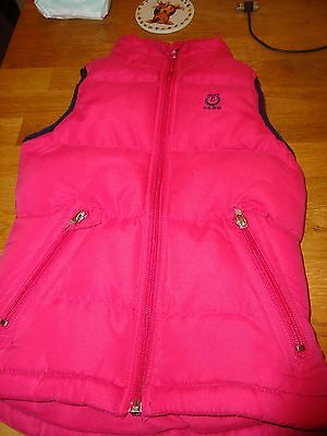 Tagg pink gilet child s/m