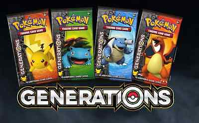Generations Booster Pack | Pokemon TCG | 20th Anniversary | Brand New & Sealed