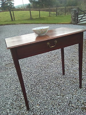 Late GeoIII period Mahogany Side Table