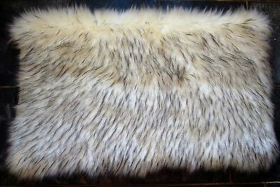 "Kitten Cat crate Bed Luxury Comfort Mattress Simulated Fur 30"" x 18"""