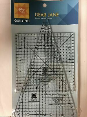 EZ Quilting Dear Jane Cut Ruler Acrylic Template Quilting Patchwork Simplicity