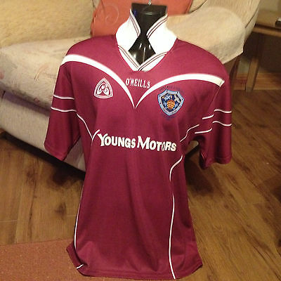 gaa gaelic jersey size large ulster leinster o'neills st pius x derry