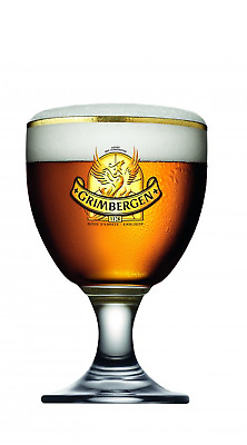 Personalised Grimbergen Half Pint Chalice Engraved Collectable Birthday Gift