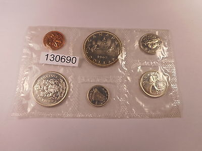 1965 Canada Mint Set - Sealed - Nice Collector Grade Coins - # 130690