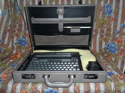 Canon Typestar 5 Electric Typewriter In Its Own Padded Briefcase W Ac Adapter