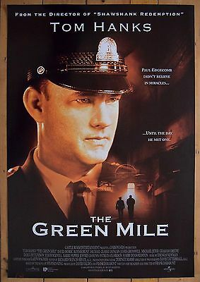 THE GREEN MILE (1999) Original D/S RARE advance One sheet poster Tom Hanks