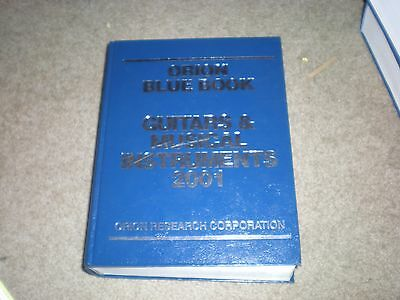 ORION RESEARCH BLUE BOOK PRICE GUIDE Guitar Musical Instruments 2001