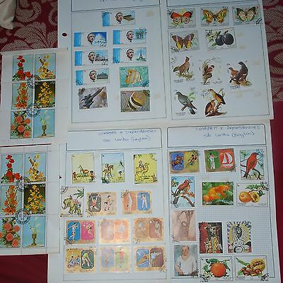 Sharjah Used Stamps - 4 sheets
