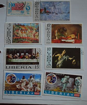 Liberia Used Stamps