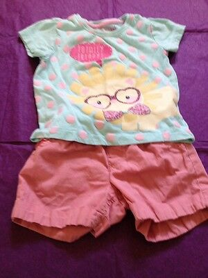 A Lovely Outfit Shorts & T-shirt Age 2/3 Yrs