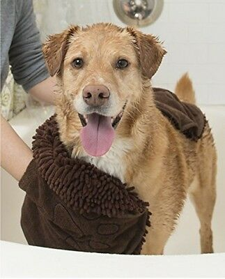 Dog Shammy Dry your dog Fast  Grey Pet Supplies Wash Snow Products clean