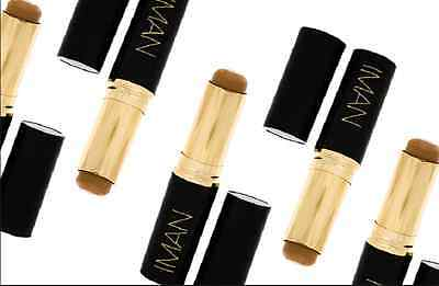 Iman Second To None Foundation Stick Choose your Shade! New In Box