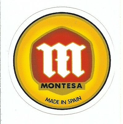 MONTESA MOTORCYCLE Sticker Decal