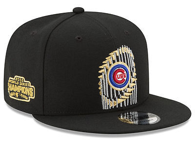 Chicago Cubs New Era 9FIFTY 2016 World Series Champions Snapback Cap Hat 950