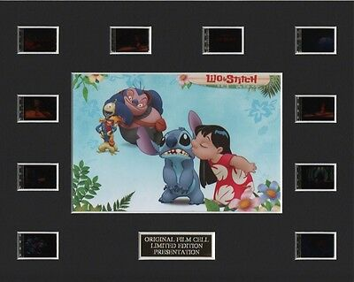 * Lilo and Stitch 35mm Film Cell Display *