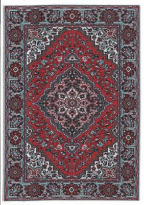 "Dollhouse Miniature Beautiful Woven Turkish Rug 6"" x 9"" ~ M110-207"