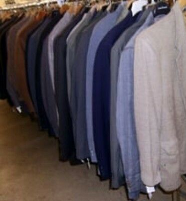 Mens Wholesale Clothing Sport Coat Lot of 6 Blazers Assorted Mixed Sizes