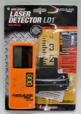 Acculine Pro 40-6700 One-Sided Laser Detector Receiver LD1