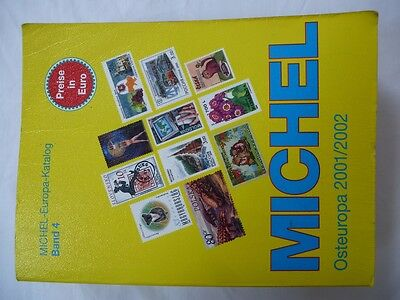 Michel Stamp Catalogue Part 4 East Europe, 2002,very Good Condition