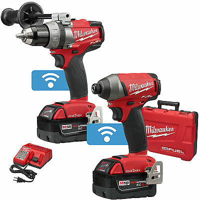 M18 FUEL 2-Tool Combo Kit with ONE-KEY Open Box Milwaukee 2795-22