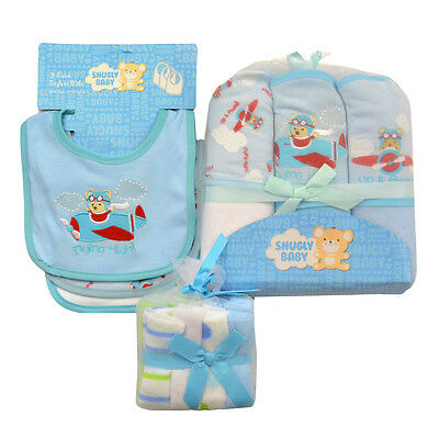 Baby Boy Bath Essentials Many Pieces Layette Gift Set Special Price! MSRP $52.00